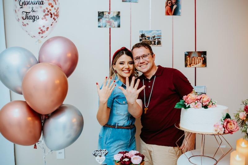 pedido de casamento com decoração no dia dos namorados