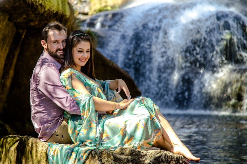 pedido de casamento em cachoeira