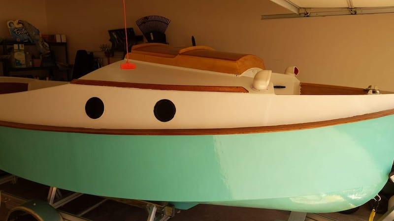 construindo um veleiro em casa