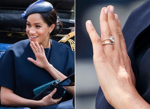 anel de noivado 3 pedras alterado Megan Markle