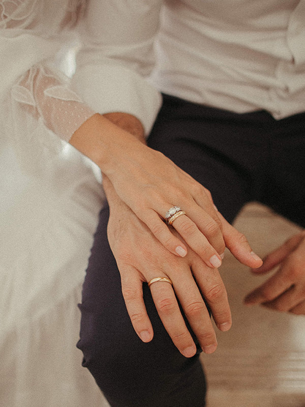 casamento de Luisa Accorsi