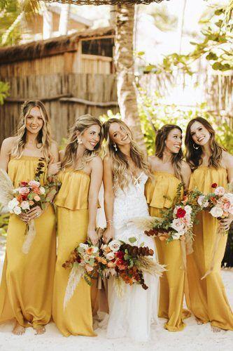 vestidos de madrinhas com a cor 2021