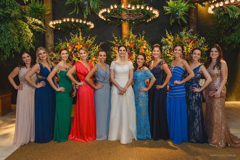 vestidos de madrinhas de casamento