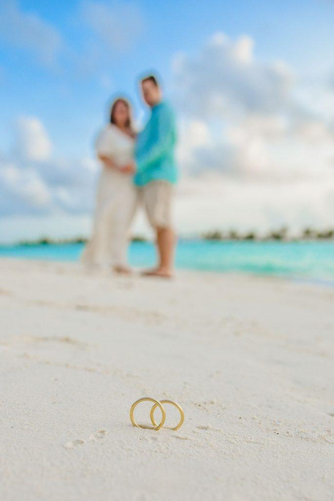 pedido de casamento surpresa em Maldivas