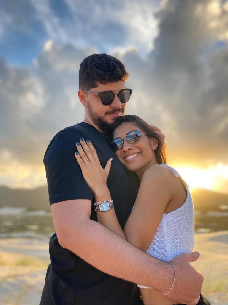 pedido de casamento surpresa em dunas