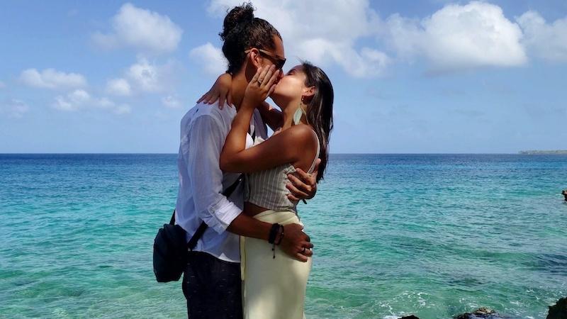 pedido de casamento em ilha paradisíaca