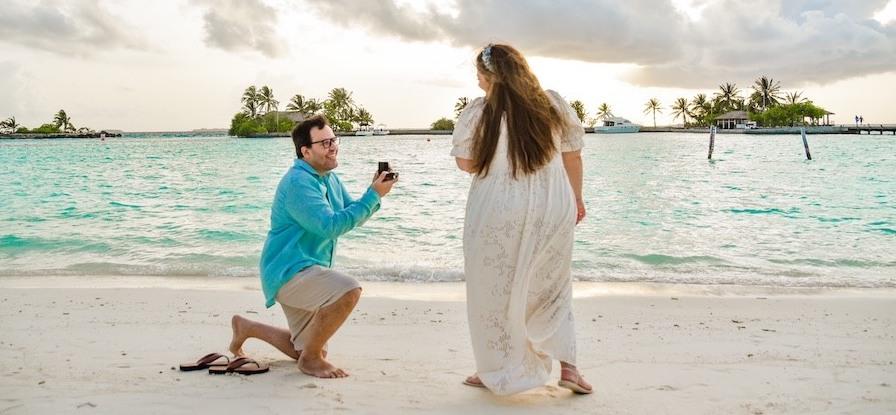 19 inspirações para um inesquecível pedido de casamento na praia