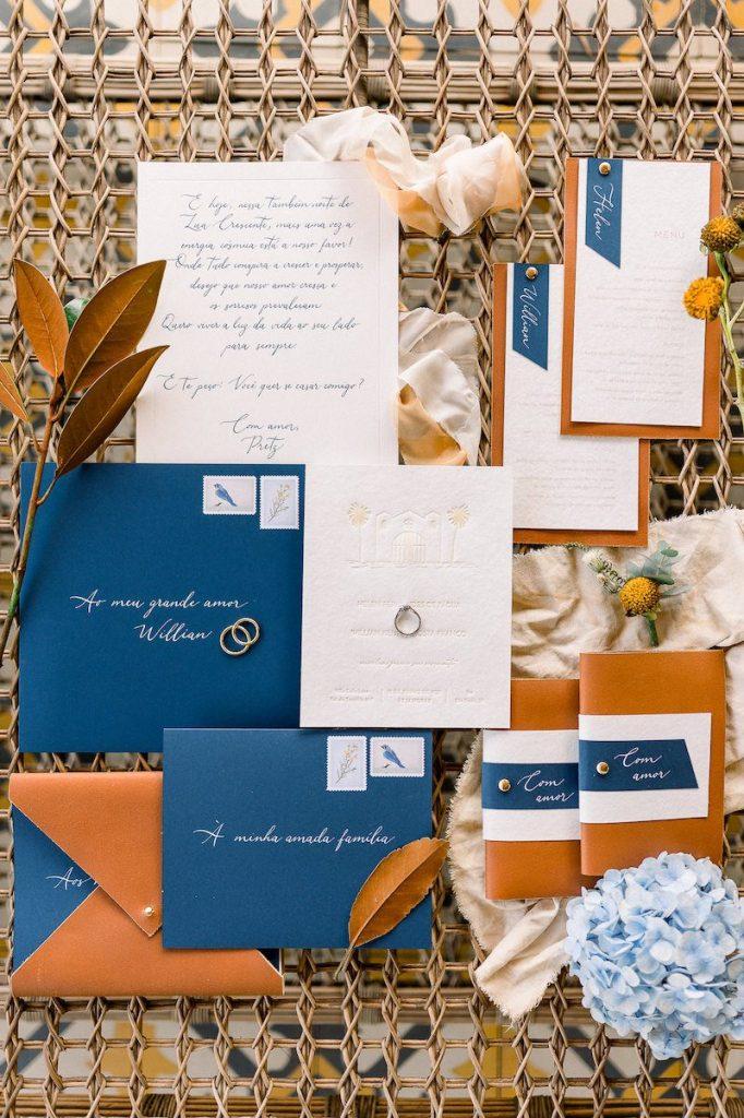 convite personalizado de casamento na fazenda