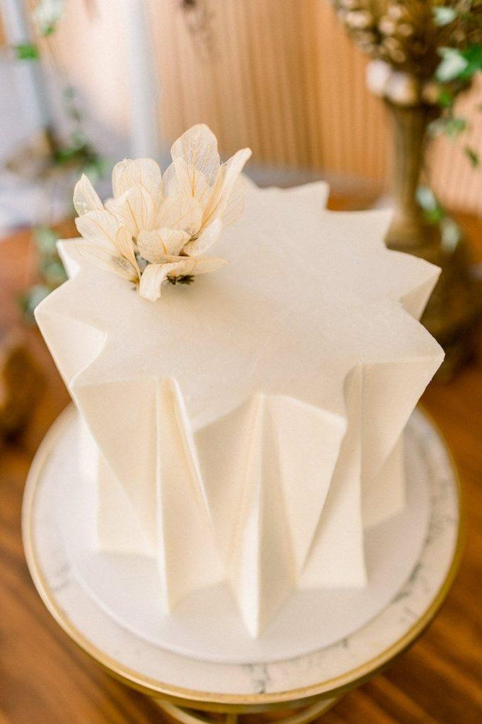 bolo de casamento sofisticado