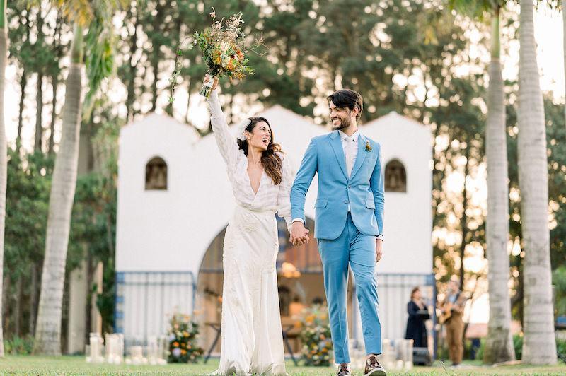 casamento inspirador no campo
