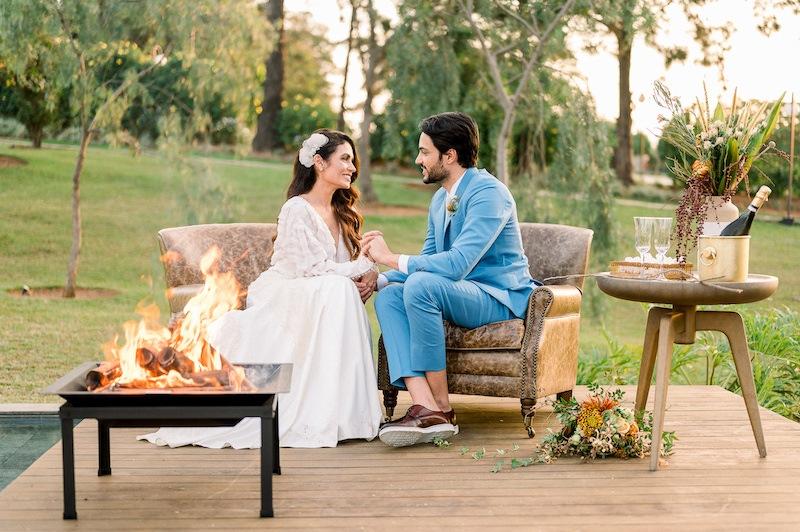 decoração de campo para casamento