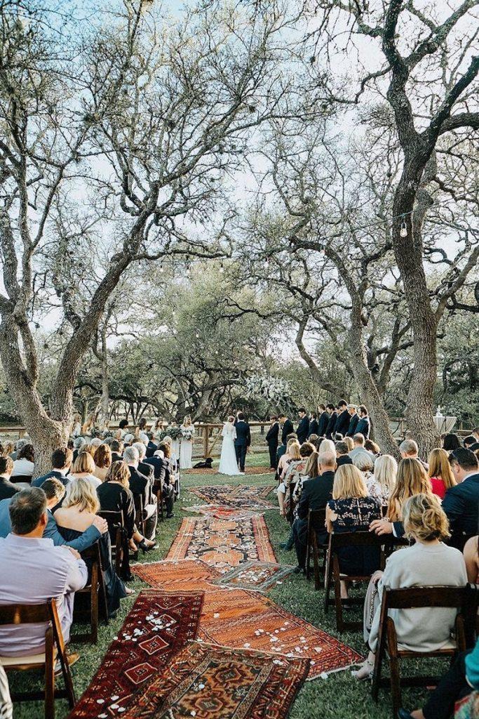 cerimônia casamento boho
