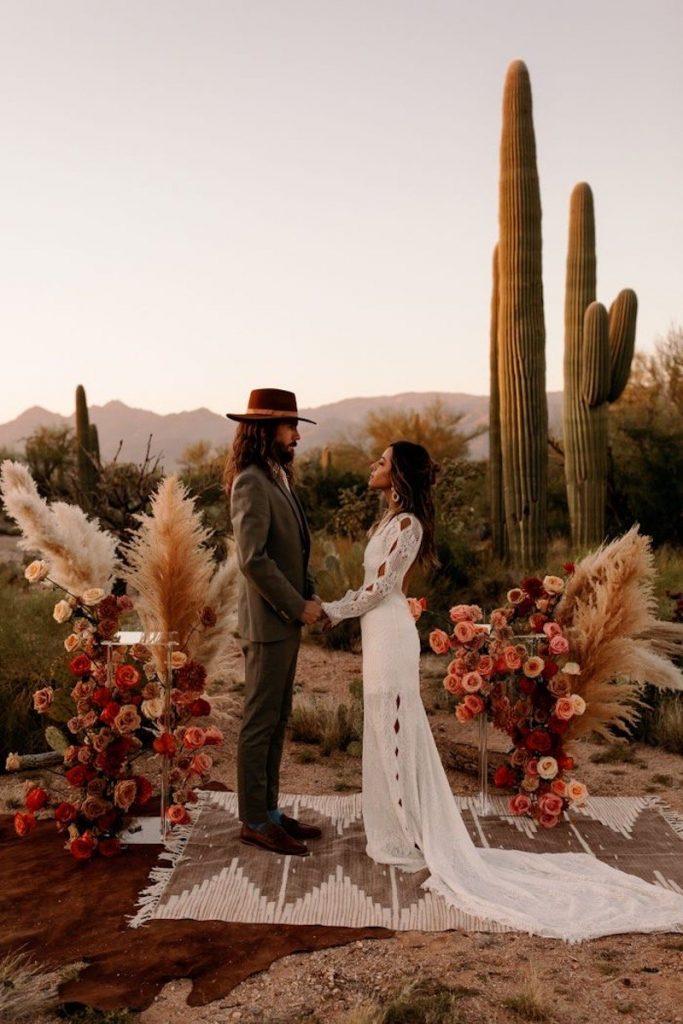casamento boho decoração despojada