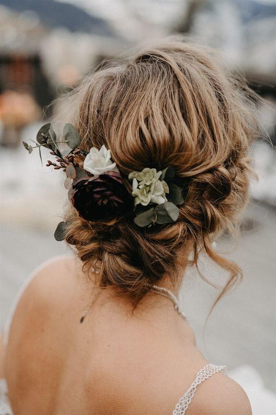 penteado de noiva boho