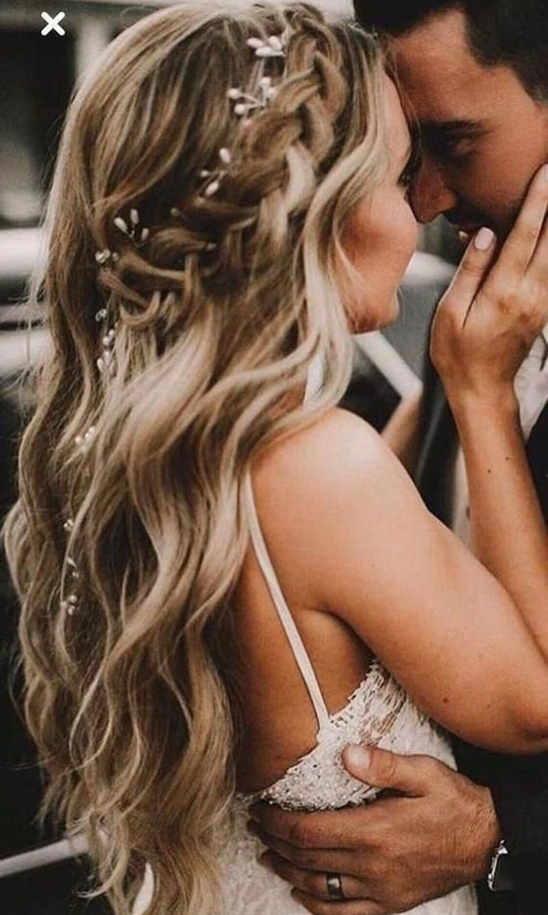 penteado de noiva estilo boho