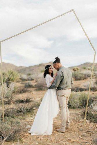 arco moderno para casamento