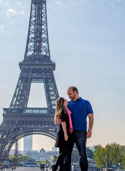 casal de noivos em Paris